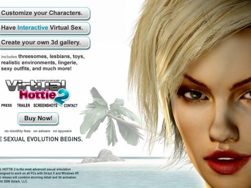 Скачать игру Virtual Hottie 2 - Симулятор секса бесплатно.